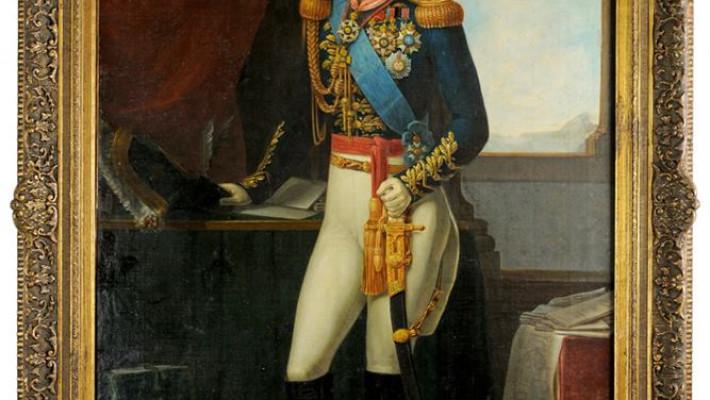 Conde do Rio Pardo– pintura de Simplício Rodrigues de Sá (1830). Museu Imperial. Coleção Tobias do Rego Monteiro.