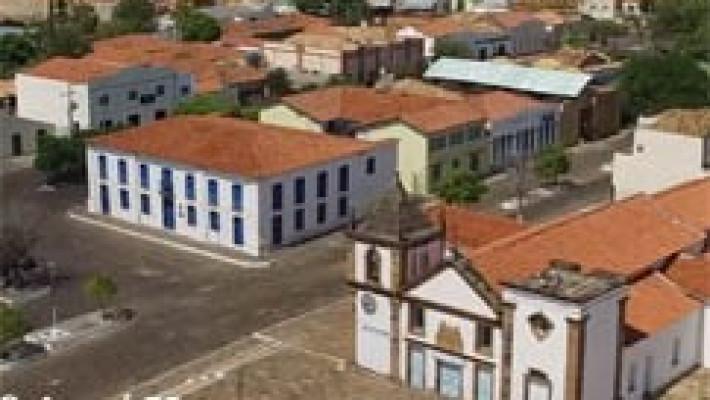 Vista parcial do centro histórico de Oeiras.