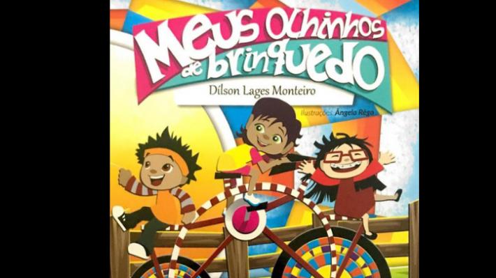 Meus Olhinhos de Brinquedo pode ser adquirida na Livraria Virtual de Entrelivros