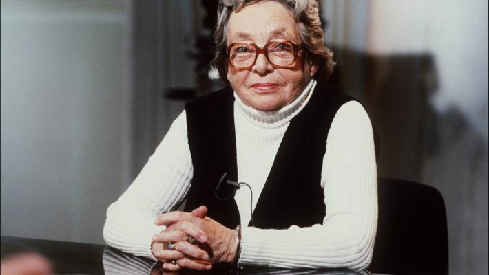 Marguerite Duras em Paris, em 1984 (Platiau/AFP)