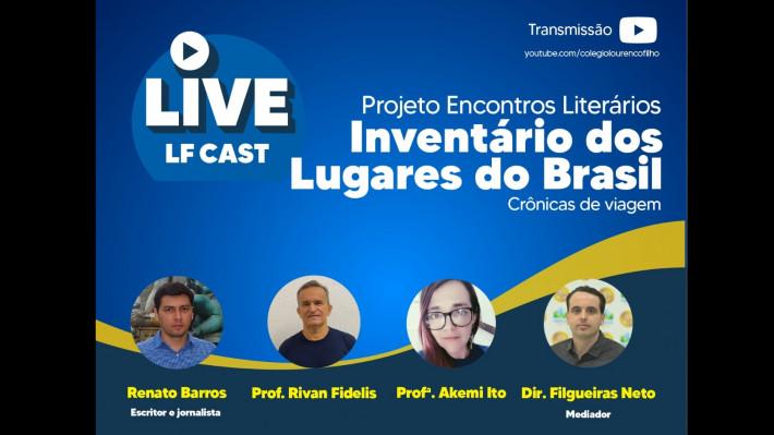Assista - Literatura de viagem: Renato Barros fala sobre as viagens pelo Brasil